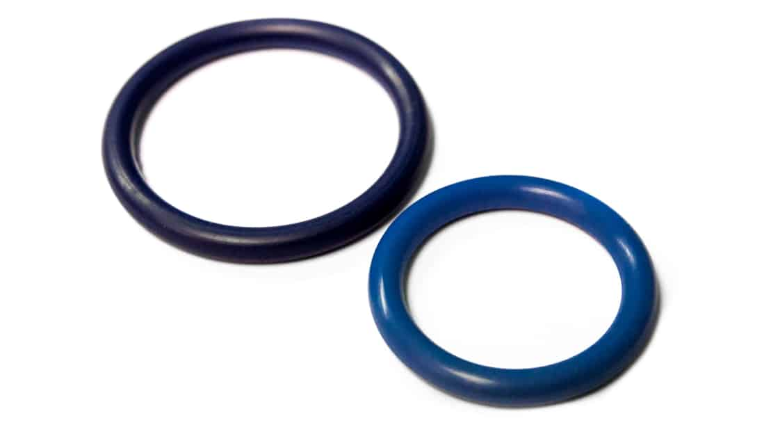 metal-detectable o-rings
